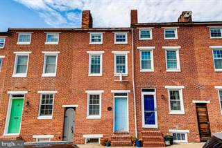 Townhouse for sale in 112 E HAMBURG STREET, Baltimore City, MD, 21230