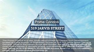 Condo for sale in Prime Condos, Toronto, Ontario