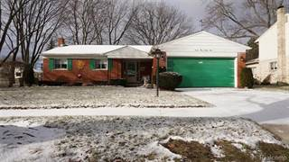 Single Family for sale in 16325 FAIRWAY Street, Livonia, MI, 48154