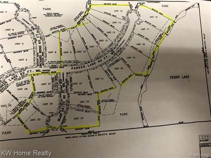 Lots And Land for sale in 000 PARKER LN, Brandon, MI, 48462