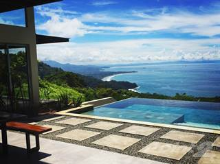 Residential Property for sale in Modern Luxury Home With Incredible Ocean Views Above Dominical, Escaleras, Puntarenas