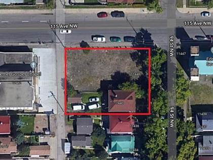 Vacant Land for sale in 11440, 11446 94 ST NW 11440, Edmonton, Alberta, T5G1H4
