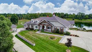 Single Family for sale in 1230 Sunset Lake Cove, Greater Huntertown, IN, 46845