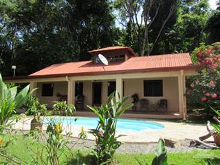 Residential Property for sale in 1.25 ACRES - 5 Bedroom Home With Pool And Ocean View!!!, Dominical, Puntarenas