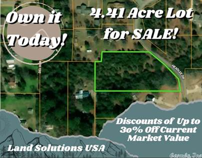 Lots And Land for sale in 00 Headlee Heights, Searcy, AR, 72143