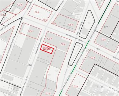 Land for sale in 1376 Inwood Ave, Bronx, NY, 10452