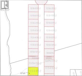 Vacant Land for sale in LOT 62 ESSEX Crescent, Charlottetown, Prince Edward Island, C1E0G8