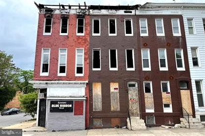 Multifamily for sale in 1700 N FULTON AVENUE, Baltimore City, MD, 21217