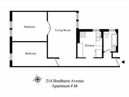 Residential Property for sale in 214 Bradhurst Avenue 24, Manhattan, NY, 10039