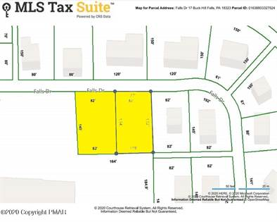 Lots And Land for sale in 16 & 17 Falls Dr, Buck Hill Falls, PA, 18323