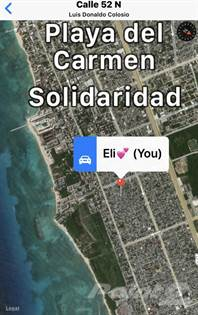 Lots And Land for sale in HOT LAND! SIZZLING AREA FOR DEVELOPMENTS! NEW COLOSIO! AV 15/52 CALLE, Playa del Carmen, Quintana Roo