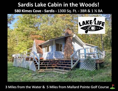 Residential for sale in 580 Kimes Cove, Sardis, MS, 38666