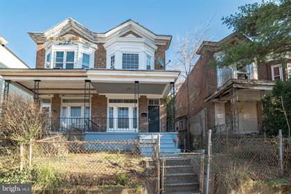Residential for sale in 1405 POPLAR GROVE STREET, Baltimore City, MD, 21216