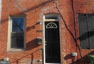 Townhouse for rent in 1007 STERRETT ST, Baltimore City, MD, 21230