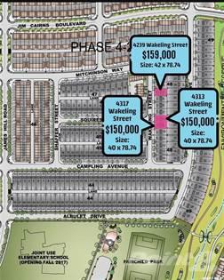 Lots And Land for sale in 4313 Wakeling STREET, Regina, Saskatchewan, S4W 0L7