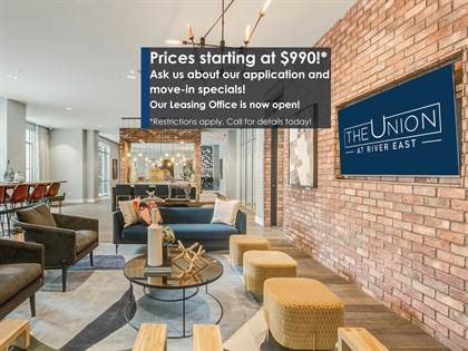 Apartment for rent in The  Union at River East, Fort Worth, TX, 76111