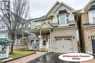 Single Family for sale in 46 BEAUMARIS CRES, Whitby, Ontario, L1M2H3