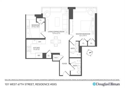 Residential Property for sale in 111 W 67th St 50G, Manhattan, NY, 10023