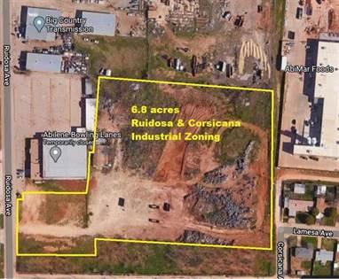 Commercial for sale in Tbd Ruidosa Drive, Abilene, TX, 79605