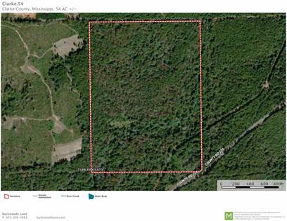 Lots And Land for sale in CLARKE COUNTY RD 220, Heidelberg, MS, 39439