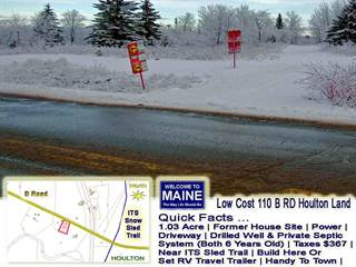 Land for rent in 110 B Road, Houlton, ME, 04730