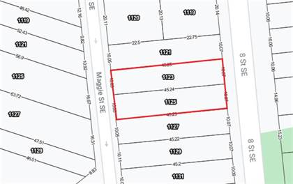 Vacant Land for sale in 1123-1125 8 Street SE, Calgary, Alberta, T2G2Z6