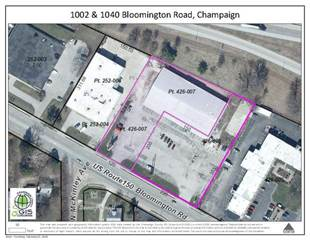 Comm/Ind for sale in 1040 West Bloomington Road, Champaign, IL, 61821