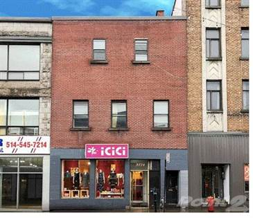 Residential Property for sale in 3772-3774 Boul. St-Laurent, Montreal, Quebec