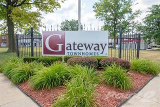 Townhouse for rent in Gateway Townhomes - 2 bedroom TH, Romulus, MI, 48174