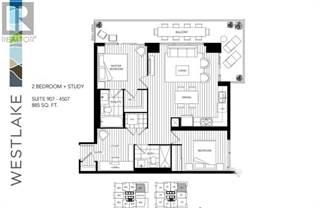 Condo for rent in 2220 LAKE SHORE BLVD W 907, Toronto, Ontario