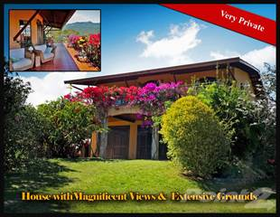 Residential Property for sale in Very Private House with Magnificent Views & Extensive Grounds--, Boquete, Chiriquí