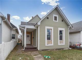 Single Family for sale in 1605 English Avenue, Indianapolis, IN, 46201