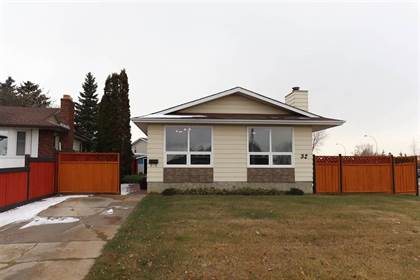 Single Family for sale in 32 HUNT RD NW, Edmonton, Alberta, T5A4C4