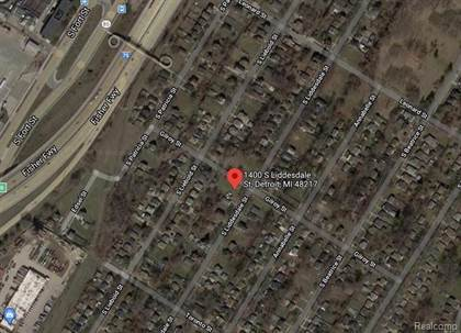 Lots And Land for sale in 1400 LIDDESDALE, Detroit, MI, 48217