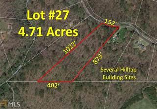 Land for sale in 0 Ash Ridge Rd Lot 27, Waleska, GA, 30183