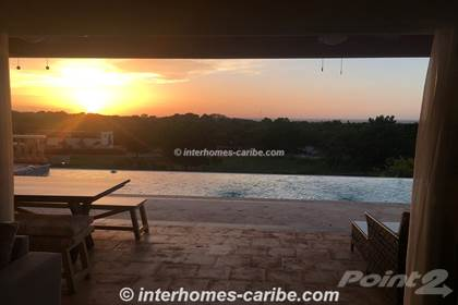 Residential Property for rent in AVAILABLE - Long term rental, three-bedroom Villa with fantastic ocean view and, Sosua, Puerto Plata