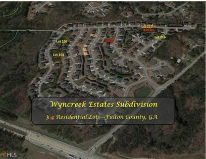 Lots And Land for sale in 5576 Boreal Way LOT 106, Atlanta, GA, 30331