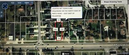 Lots And Land for sale in 000 E Maple Road Road, Troy, MI, 48083