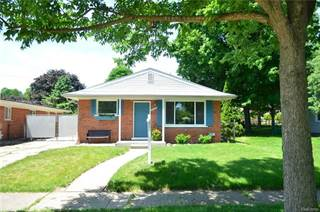 Single Family for sale in 18663 SUNSET Street, Livonia, MI, 48152