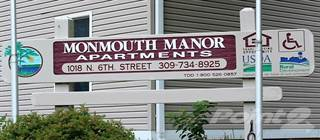 Apartment for rent in Monmouth Manor - 1 Bedroom, Monmouth, IL, 61462
