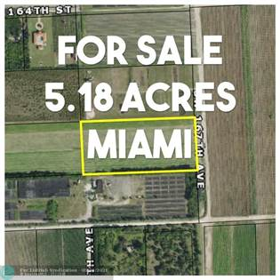 Lots And Land for sale in Sw 168 Street & SW 167 Avenue, Miami, FL, 33187