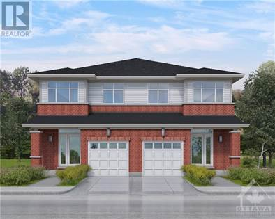 Single Family for sale in Lot 105R THERIAULT WAY, Ottawa, Ontario, K1W0G5