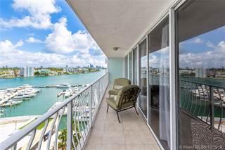 Condo for sale in 7601 E Treasure Dr 1016, North Bay Village, FL, 33141