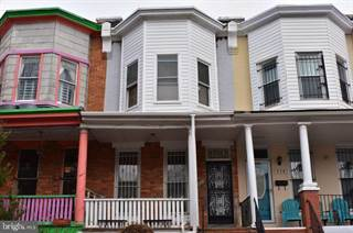Townhouse for rent in 332 ILCHESTER AVENUE, Baltimore City, MD, 21218