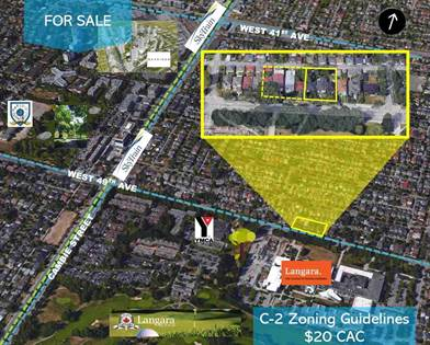 Vacant Land for sale in 137 W 49TH AVENUE, Vancouver, British Columbia, V5Y2Z7