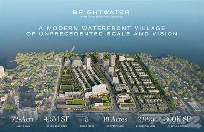 Condominium for sale in Brightwater VIP Launch. Waterfront Master-Planned Community, Mississauga, Ontario, L5H1G5