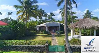 Residential Property for sale in 4K VIDEO TOUR! LOWEST PRICED BEACHFRONT VILLA IN CABARETE! 3 BEDROOM + GUESTHOUSE!, Cabarete, Cabarete, Puerto Plata