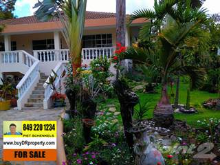 Residential Property for sale in VILLA WITH GUESTHOUSE IN GATED COMMUNITY AND WALKING DISTANCE TO THE BEACHES, Sosua, Puerto Plata