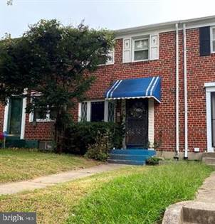 Residential for sale in 4846 MELBOURNE ROAD, Baltimore City, MD, 21229
