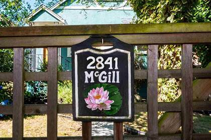 Single Family for sale in 2841 MCGILL STREET, Vancouver, British Columbia, V5K1H7
